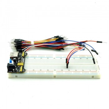 ARDUINO / MB102 Breadboard 830 Points+Power Supply+65 Jumper cable