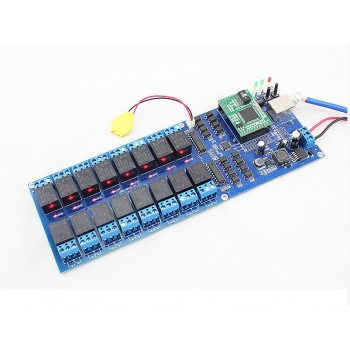 16 Channel Relay,Remote Control Switch by LAN