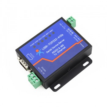 1xRS232+1xRS485 to Ethernet Serial Devce Servers, Modbus to Ethernet Converters