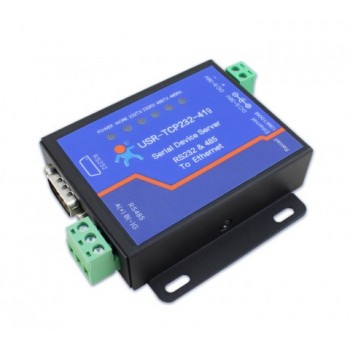 1xRS232+1xRS485 to Ethernet Serial Device Servers, Modbus to Ethernet Converters wDTR/DSR