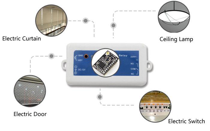 1 Output Wifi Remote Control Relay,DC 12V Power